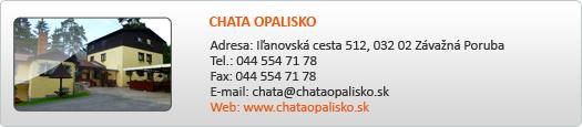 CHATA OPALISKO