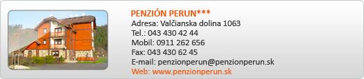 PENZIÓN PERUN***