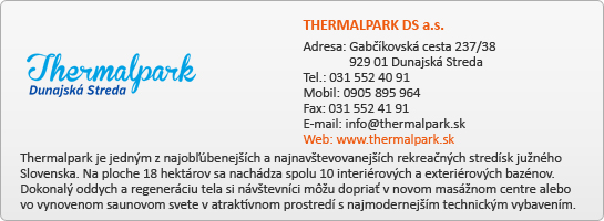 THERMALPARK DS a.s.