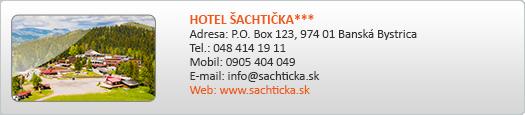 HOTEL ŠACHTIČKA***